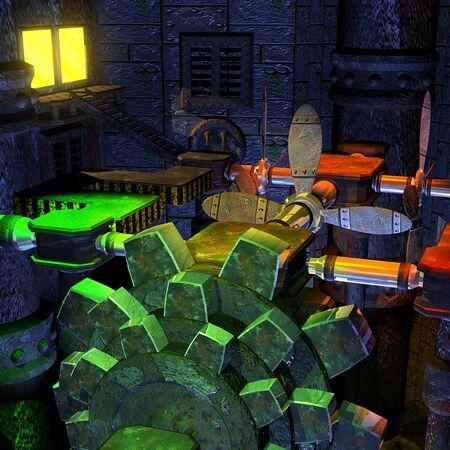 Banjo kazooie engine room render.jpg