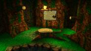 Bosque del reloj tic-tac habitacion