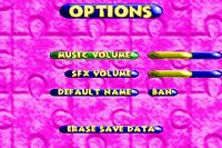 Options Menu - Banjo-Pilot