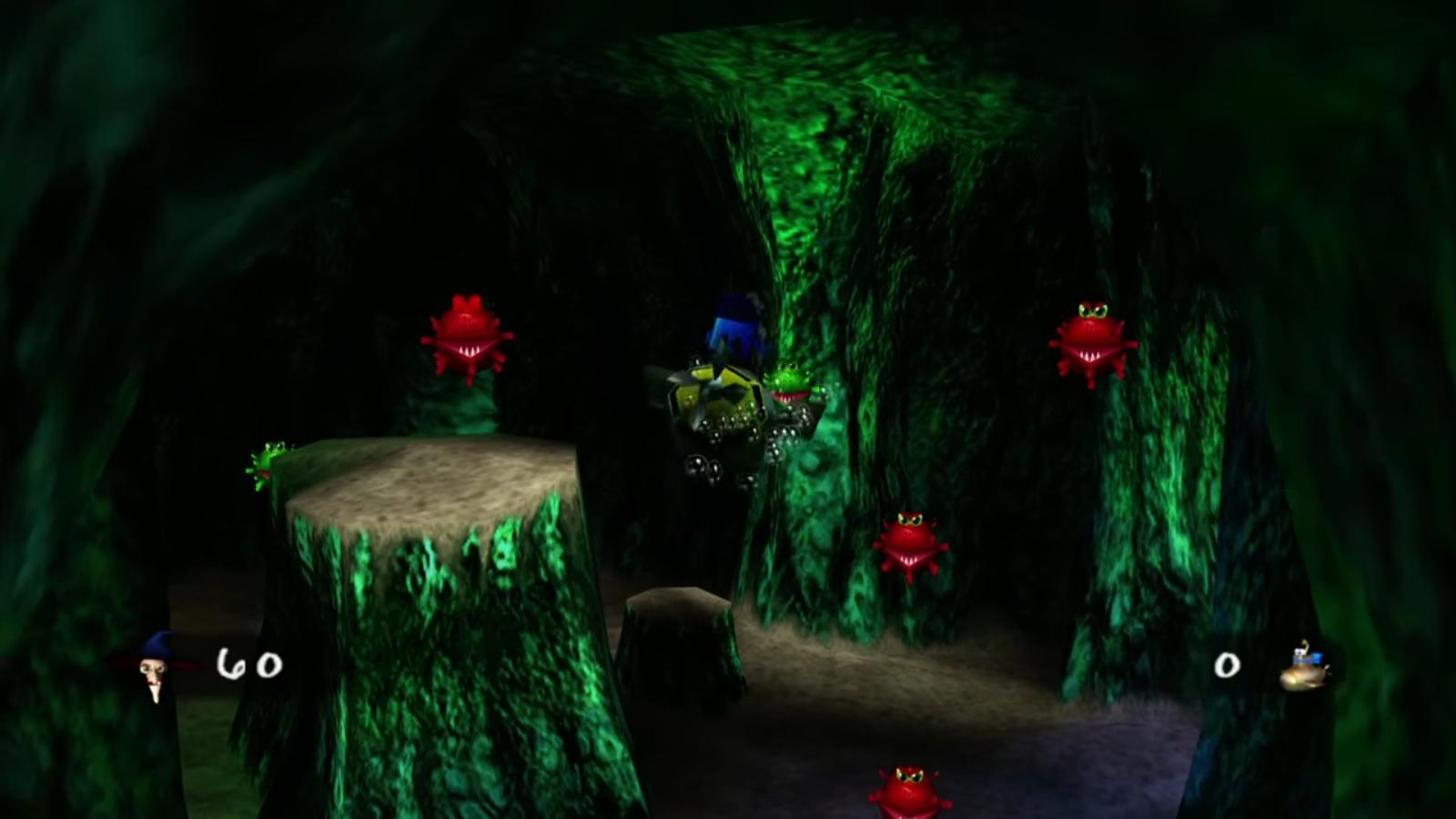 Sea Bottom Cavern