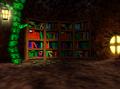 Bottles bookcase
