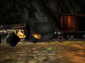 Chuffy in glitter gulch mine