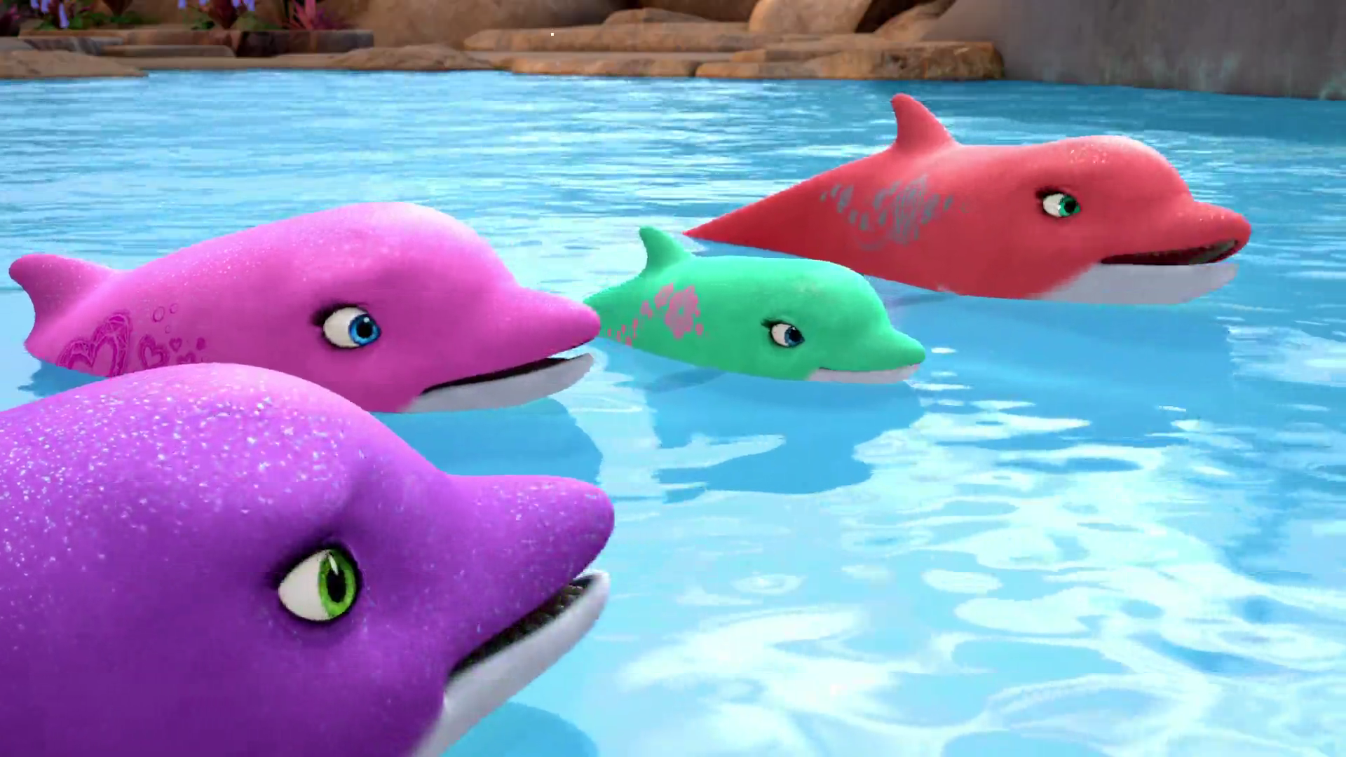 Gemstone Dolphins