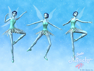 Barbie in the Nutcracker Official Stills Snow Faeries