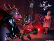 Barbie in the Nutcracker Official Stills Clara Eric Mouse King