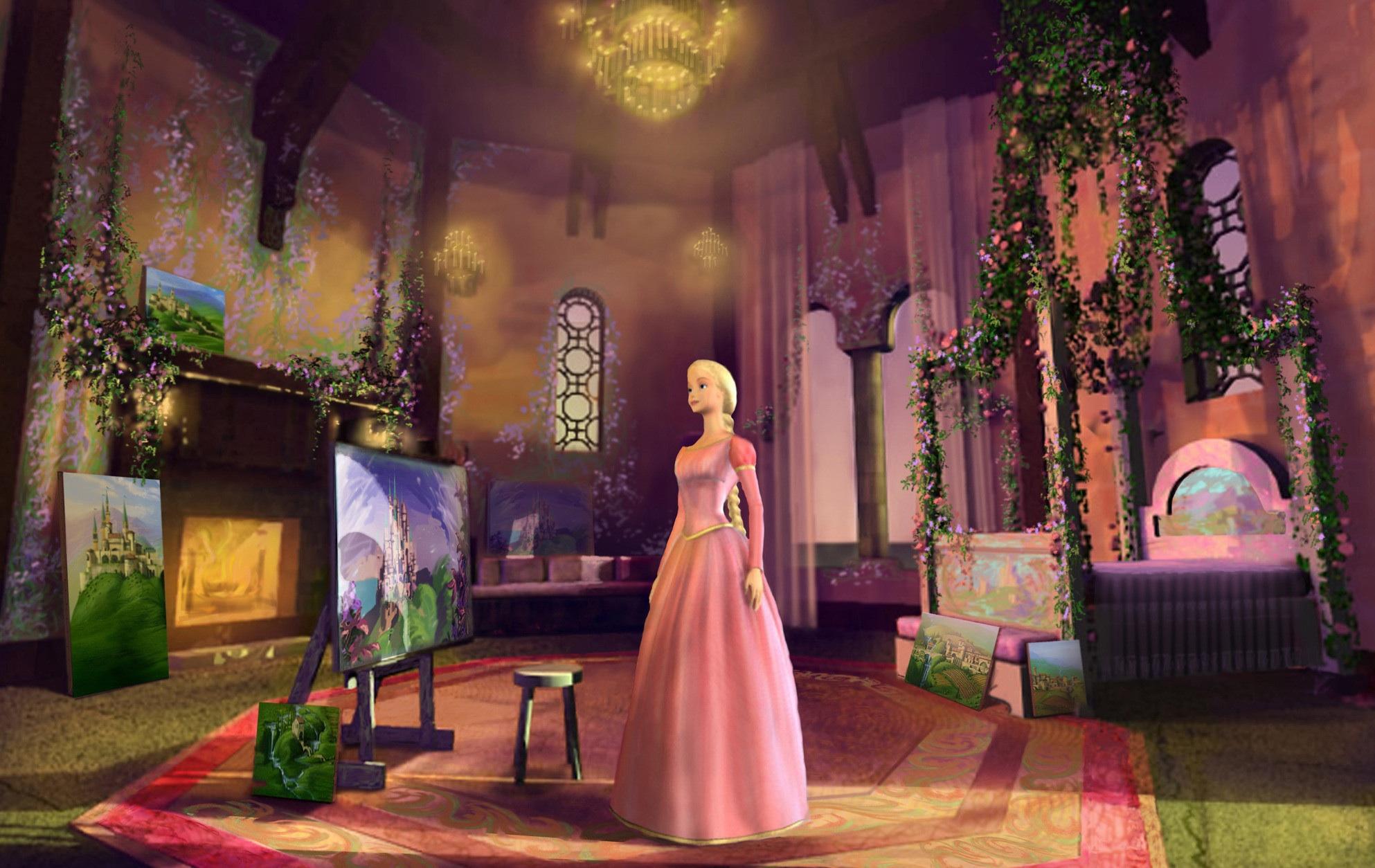 Barbie as Rapunzel/Gallery