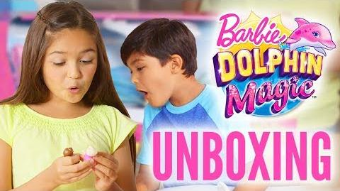 Dive Into Fun When You Unbox the Barbie Dolphin Magic™ Ocean View Boat