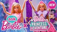 Ask Barbie About Her Favorite Songs from Barbie Princess Adventure!