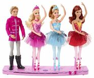 Land of Sweets Dillon Kristyn Dancer Tara Doll set