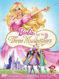 Barbie Three Musketeers DVD Cover.png