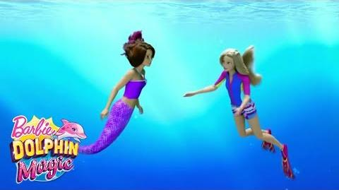 Isla Teach Barbie Swim Like A Mermaid Barbie™ Dolphin Magic