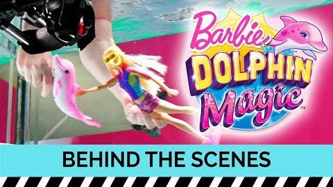 Behind the Scenes Magic on a Commercial Shoot for Barbie Dolphin Magic™ Dolls