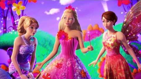 Bande annonce Barbie et la porte secrète
