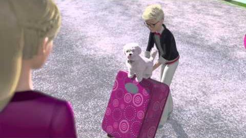 """Barbie et ses sœurs au club hippique - Extrait """"Barbie et ses sœurs arrivent au club hippique de leur tante"""""""