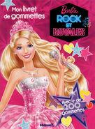 Barbie rock et royales mon livret de gommettes