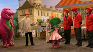 Behind the Scenes - Bonjour Barney 2