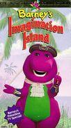 Barney's Imagination Island 1994 VHS