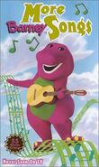 More Barney Songs VHS