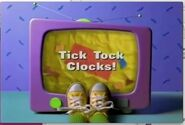 Tick Tock Clocks! Title Card