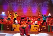 Barney Rocks en Concert Vivo