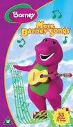 More Barney Songs 2002 UK VHS