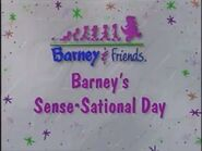 Barney's Sense-Sational Day