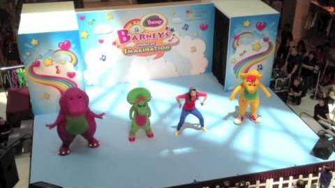 Barney's Jukebox Party 'Live' on Stage
