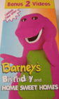 Barney's Birthday / Home Sweet Homes