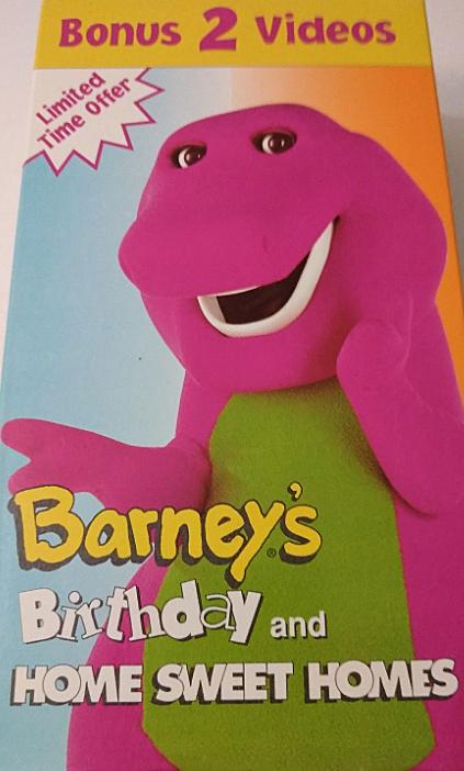 Barney's Birthday / Home Sweet Homes