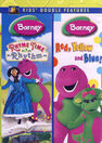 10169806-0-barney rhyme time rhythm red yellow and blue double feature-dvd f large