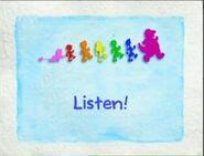 Barney Title Card - Listen!