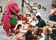 Barney90LivingRoomSet