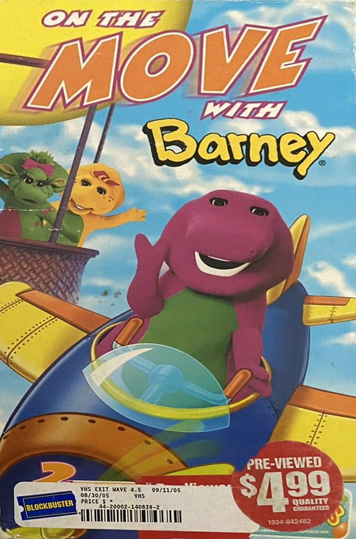 On The Move with Barney