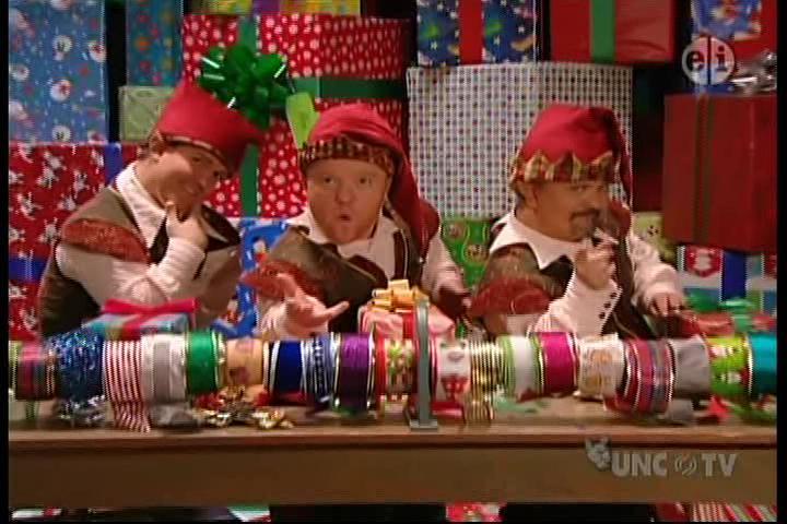 Santa's Wrapping Crew