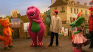 Behind the Scenes - Bonjour Barney 1