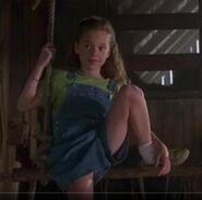 Abby on a swing