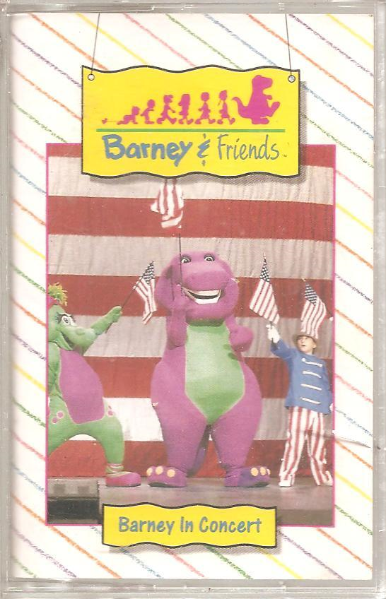 Barney in Concert (Audio Cassette)