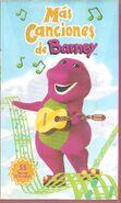 More Barney Songs spanish DVD release
