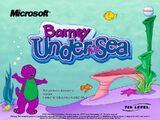Barney Under The Sea