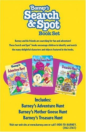 Barney's Search & Spot Book Set