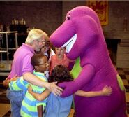 Behind the Scene - Barney's Magical Musical Adventure 1
