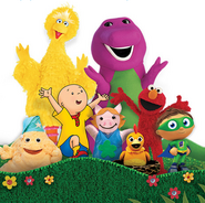 Barney sprout characters