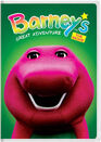 Barney's Great Adventure The Movie (Happy Faces Version) DVD Cover