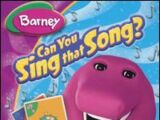Can You Sing That Song?