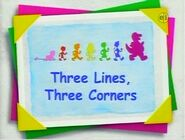 Three Lines, Three Corners