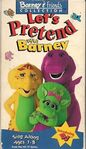 Let's Pretend with Barney (1994)