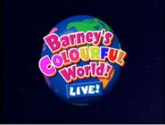 Barney's Colourful World LIVE!