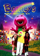 Barney and his friends on the poster