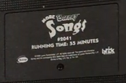 More Barney Songs Screener Label