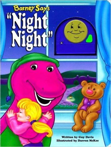 """Barney Says """"Night Night"""""""